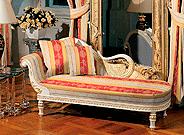 Sofa mit Bezug von Höpke